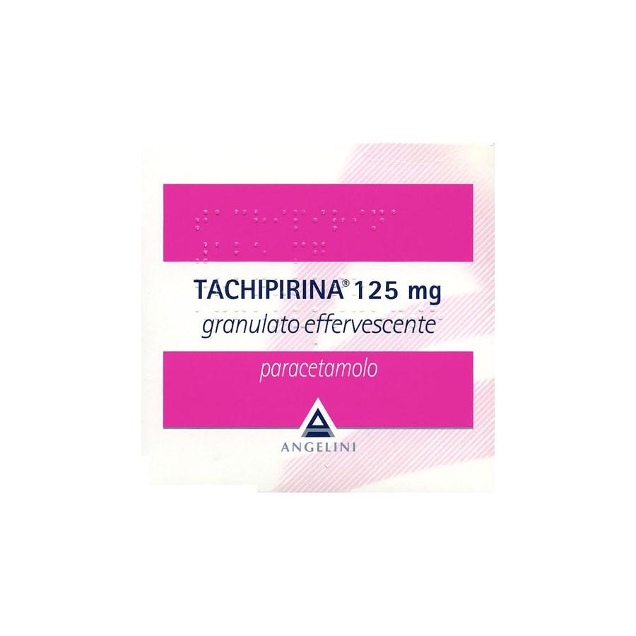 Tachipirina Granulato Effervescente Bambini 125 mg Paracetamolo 20 Bustine