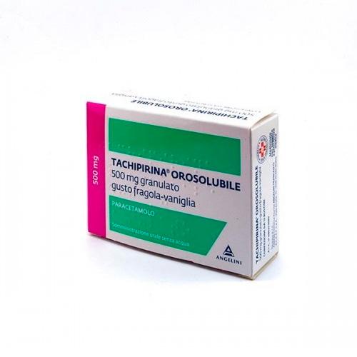 Tachipirina Orosolubile 500 mg Paracetamolo 12 Bustine