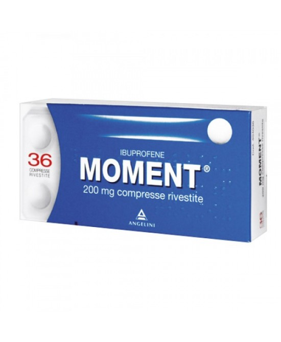 Moment 200 mg Ibuprofene 36 Compresse Rivestite