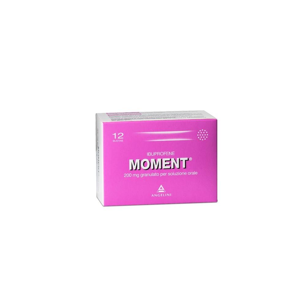 Moment Granulato 200 mg Ibuprofene 12 bustine