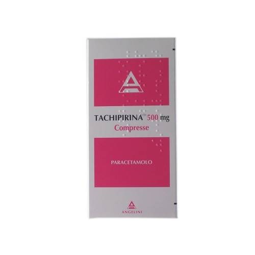 Tachipirina 500 mg Paracetamolo Antipiretico Analgesico 10 Compresse