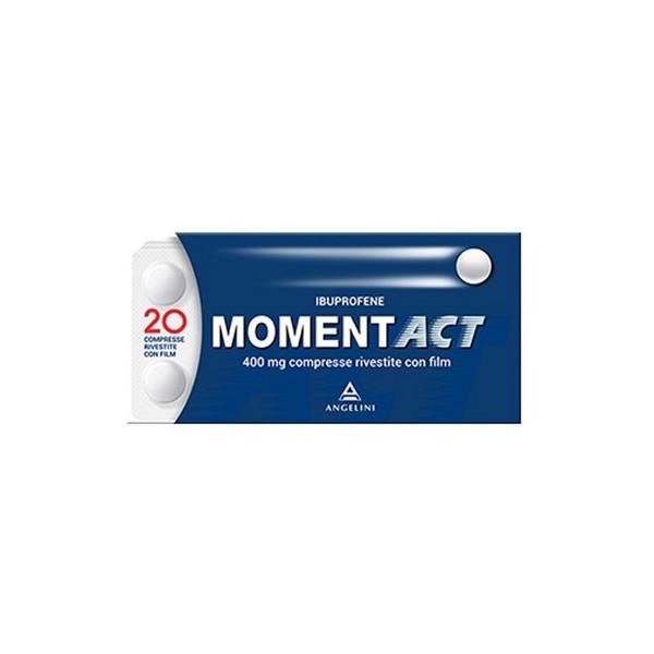 Momentact 400 mg Ibuprofene Analgesico 20 Compresse Rivestite