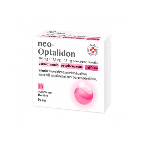 Neo-Optalidon Paracetamolo/Propofenazione 16 Compresse Rivestite