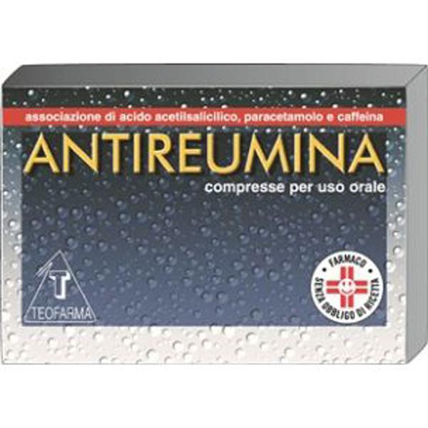 Antireumina Compresse Acido acetilsalicilico / Paracetamolo 10 Compresse