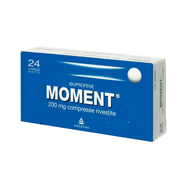 Moment 200 Mg Ibuprofene 24 Compresse Rivestite
