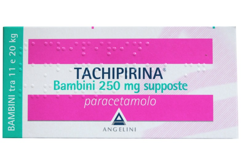 Tachipirina Bambini 250 mg Paracetamolo 10 Supposte