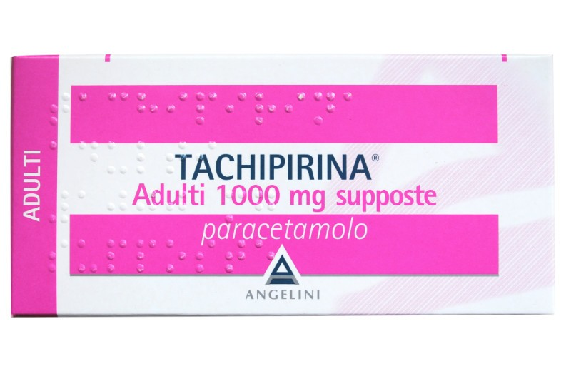 Tachipirina Adulti 1000 mg Paracetamolo 10 Supposte