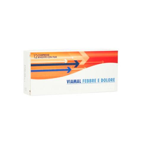 Viamal Febbre E Dolore 400 mg Ibuprofene 12 Compresse