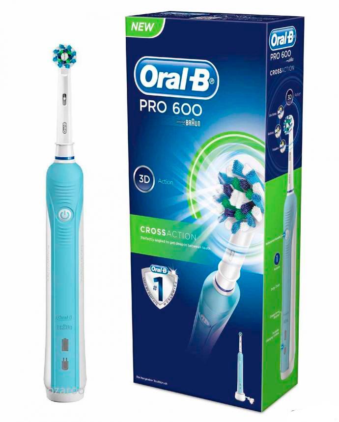Spazzolino Elettrico Oral-B Pro 600 CrossAction