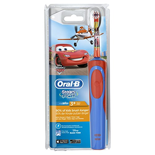 Oral-B Vitality Stages Power Spazzolino Elettrico Bambino Cars