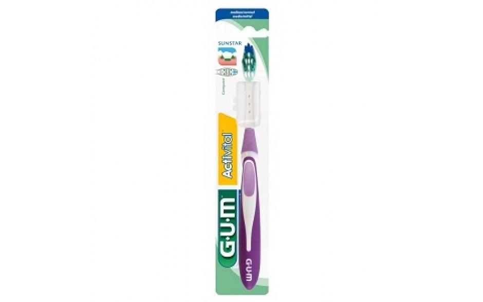 Gum Activital 583 Compact Spazzolino Setole Medie