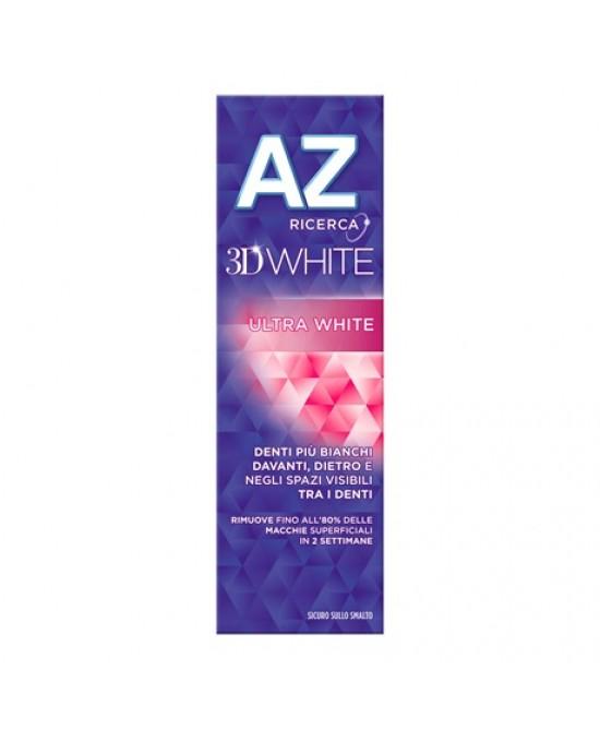 AZ 3D Ultra White Dentifricio Sbiancante 75 ml