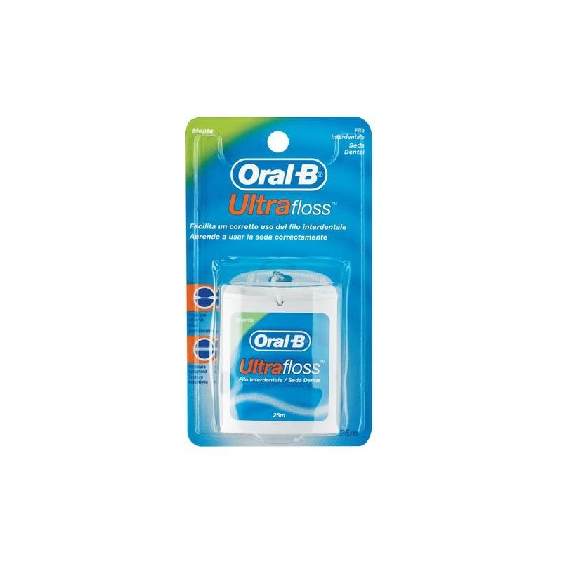 Oral-B Ultrafloss Filo Interdentale Premisurato 25 metri