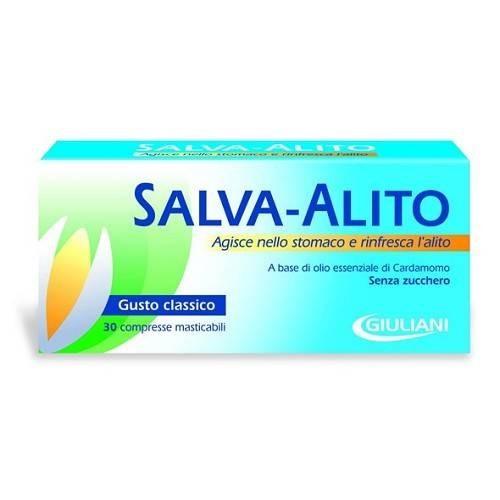 Salva-Alito Giuliani Anti-Alitosi 30 Compresse Gusto Classico