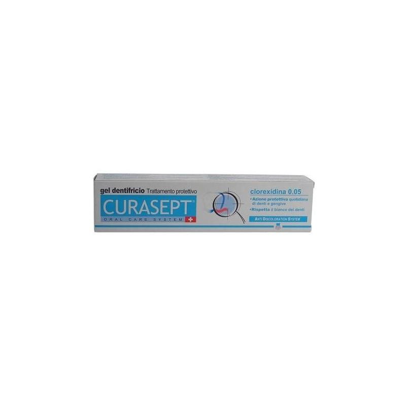 Curasept ADS Dentifricio 0,05% Cloredixina Trattamento Placca e Carie 75 ml