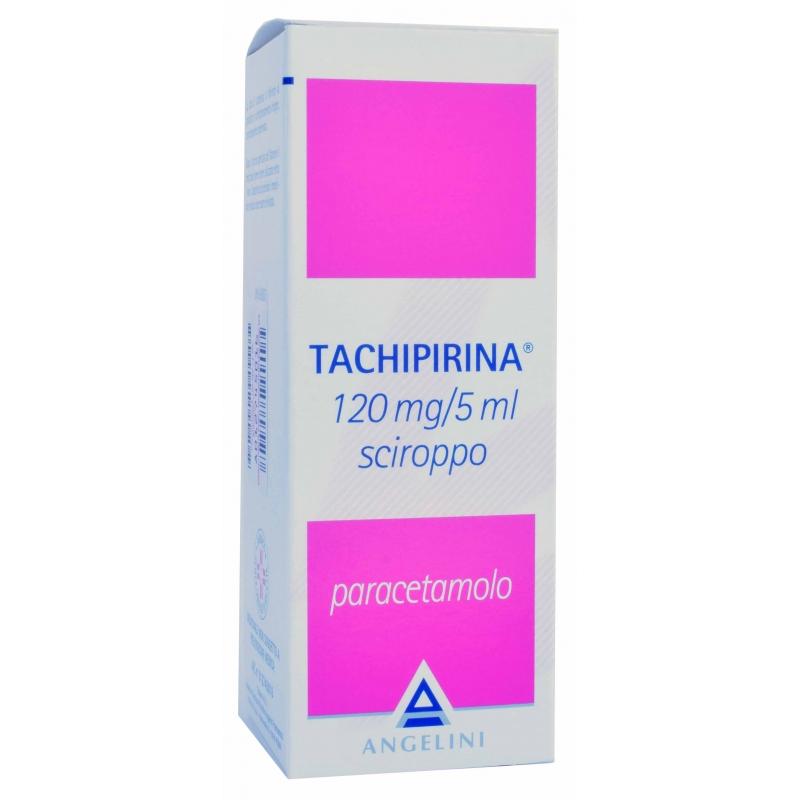 Tachipirina Sciroppo Paracetamolo 120mg/5ml Flacone 120 ml